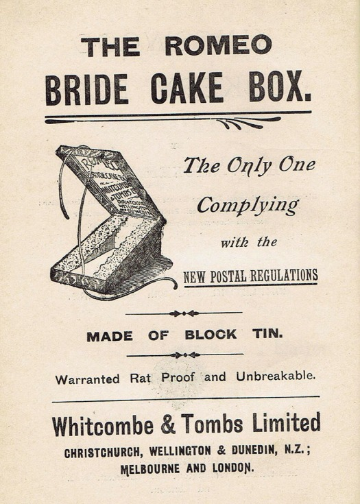 cake box kingswood cookery book
