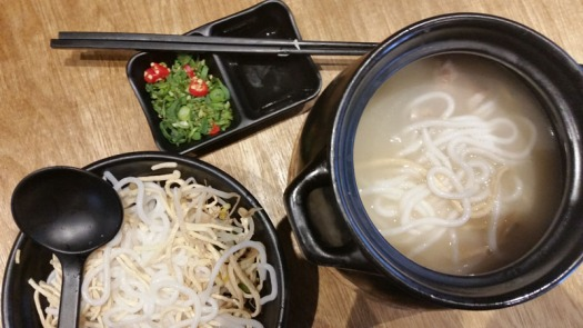 Yunnan Beef pot noodle soup at Two Sticks aug 2015 web