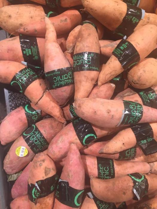 over packaged sweet potatoes july 2018