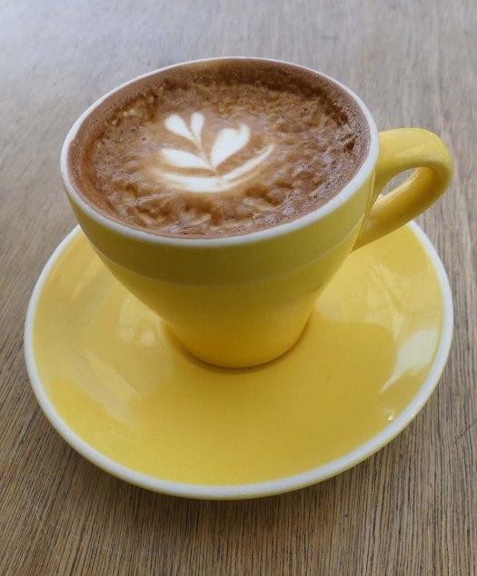 Fig 82. Flat white coffee